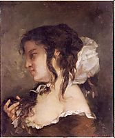 The Reflection, 1864, courbet