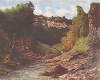Rocky Landscape, c.1862, courbet