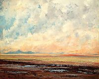 Seascape, 1866, courbet