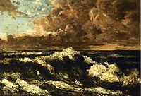 Seascape, c.1870, courbet