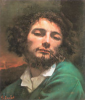 Self-Portrait (The Man with a Pipe), 1849, courbet