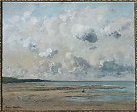 Shores of Normandy, 1866, courbet