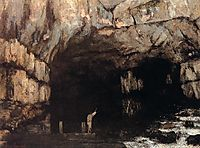 The Source of the Loue River, 1864, courbet