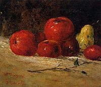 Still Life Apples and Pears, 1871, courbet