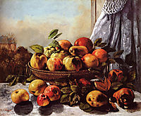 Still Life with Fruits, 1871-1872, courbet