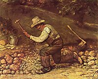 The Stone Breaker, 1849, courbet