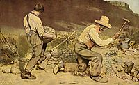 The Stone Breakers, 1849, courbet