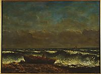 Stormy Sea (The Wave), 1870, courbet