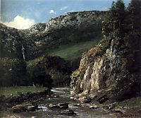 Stream in the Jura Mountains, 1873, courbet