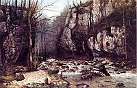 The Stream of the Puits Noir at Ornans, 1868, courbet
