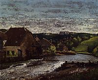 The Loue Valley, c.1872, courbet