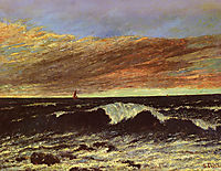 The Vague, 18, courbet