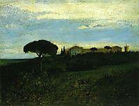 View of La Tour de Farges, 1857, courbet