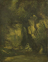 Waterfall in the Wood, 1863, courbet
