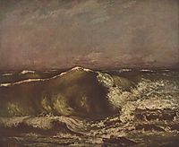 The Wave, 1870, courbet