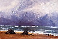 The Wave, 1871, courbet