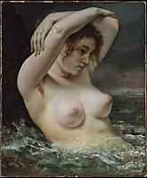 Women in the wave or Bathers, 1868, courbet