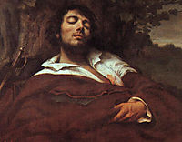 Wounded Man, 1844-1845, courbet
