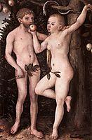 Adam and Eve, c.1538, cranach
