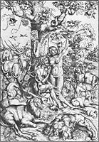 Adam and Eve in Paradise, 1509, cranach