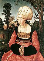 Anna Cuspinian, c.1502, cranach