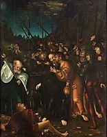 Arrest of Christ, 1538, cranach