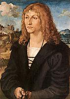 Beardless young man, c.1500, cranach