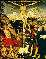 Christ as Savior with Martin Luther, 1552, cranach