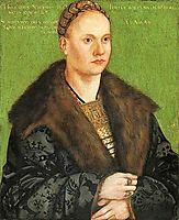Christoph von Scheurl, 1509, cranach