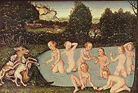 Diana and Actaeon, c.1518, cranach