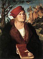 Dr. Johannes Cuspinian, c.1503, cranach
