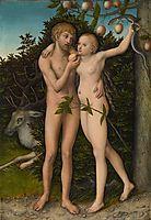 Fall of Man, 1537, cranach
