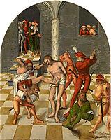 Flagellation of Christ, 1538, cranach