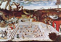 The Fountain Of Youth, 1546, cranach