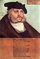 Friedrich III, the Wise, Elector of Saxony, 1532, cranach