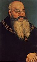 Georg der Bärtige, Duke of Saxony, c.1536, cranach