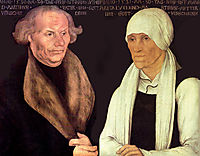 Hans and Magrethe Luther, 1527, cranach
