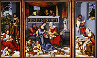 The Holy Family, 1509, cranach