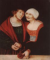 The Infatuated Old Woman, 1522, cranach