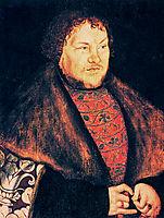 Joachim I Nestor, Elector of Brandenburg , 1529, cranach