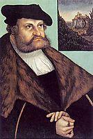 Johann Friedrich von Sachsen, 1532, cranach