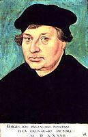 Johannes Bugenhagen, 1537, cranach