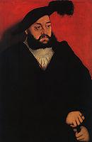 John, Duke of Saxony, cranach