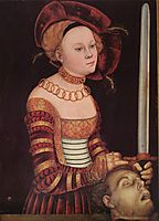 Judith, cranach