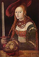 Judith, c.1515, cranach