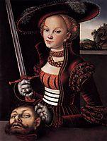 Judith Victorious, c.1530, cranach