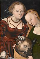 Judith with the head of Holofernes, c.1537, cranach