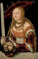 Judith with the head of Holofernes, c.1530, cranach
