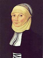 Katharina Luther, 1528, cranach