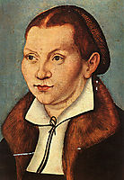 Katharina Luther, 1529, cranach